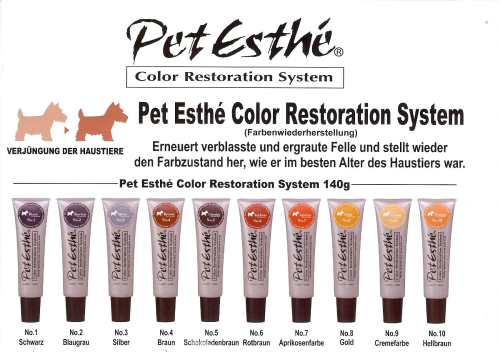 Pet Esthe -Color Restorations System - Set