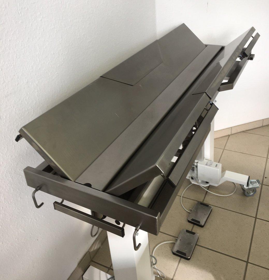 OP-Tisch Modell 3104V Beidseitig Kippbar, Horizontal